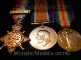 FULL SIZE WW1 REPLACEMENT MEDALS